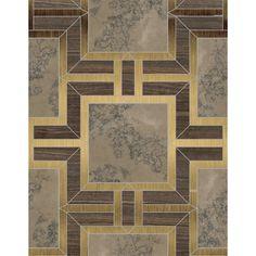 Bryant Square Petite Honed Marble Mosaics 9 1/8x7 5/8