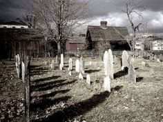 Salem, Massachusetts to walk where the witch trails took place.