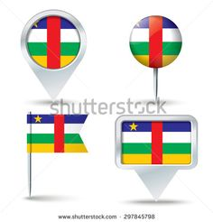 Find Map Pins Flag Central African Republic stock images in HD and millions of other royalty-free stock photos, illustrations and vectors in the Shutterstock collection. Thousands of new, high-quality pictures added every day. Map Vector, Royalty Free Stock Photos, Flag, African, Illustration, Pictures, Photos, Illustrations, Science