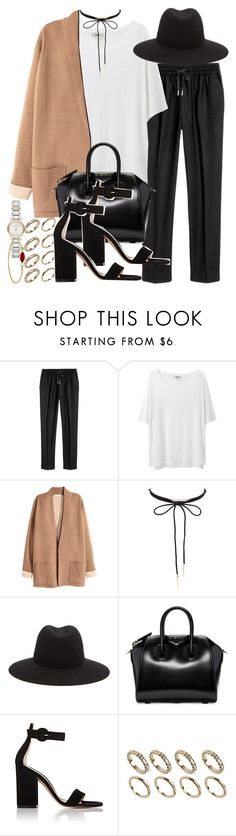"""""""Sin título #4113"""" by hellomissapple on Polyvore featuring moda, Acne Studios, Charlotte Russe, rag & bone, Givenchy, Gianvito Rossi, ALDO y Burberry"""