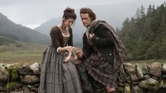 """The much-anticipated series """"Outlander"""" begins on Starz on Saturday, August 9. Based on Diana Gabaldon's best-selling books, the story follo..."""