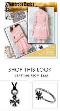 """""""Sammydress 52"""" by selmaaaa-1 ❤ liked on Polyvore featuring Design Fidelity, Chrome Hearts and sammydress"""