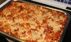 Lasagne vegan grönsaker, färs och tofu Tofu, Squash, Vegetarian Recipes, Ethnic Recipes, Mat, Simple, Lasagna, Pumpkins, Gourd