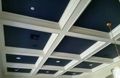 a ceiling we created for a client in scottsdale