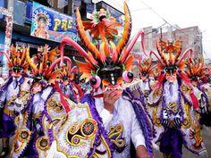 Festividad Virgen de la Candelaria en Puno