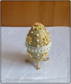 Пасхальные яйца из шпагата. Мастер-класс » Женский Мир