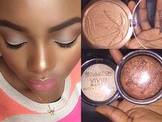 Top 6 Drugstore Highlighters For Dark Skin