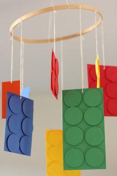 Week of Menus: Lego Birthday Party for Son's Birthday: Low key fun Ninjago Party, Lego Birthday Party, 6th Birthday Parties, Birthday Party Decorations, Lego Parties, Lego Ninjago, Birthday Ideas, Deco Lego, Lego Decorations