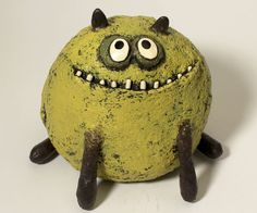 dog sculpture SWEETY PIE by blobhouse on Etsy