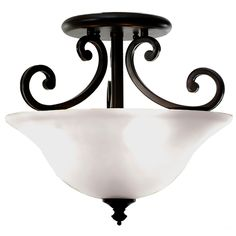 Mercury Glass Hurricane Ceiling Light Mercury glass Ceiling and