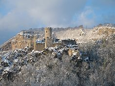 Neu Falkenstein castle, Balsthal, Switzerland