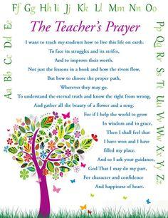 Items similar to Teacher's Prayer- Teacher Gift- Wall Art - Print on Etsy Teacher Devotions, Teacher Prayer, School Prayer, Prayer For Teachers, Classroom Prayer, Classroom Ideas, Teacher Appreciation Poems, Teacher Poems, Teaching Quotes
