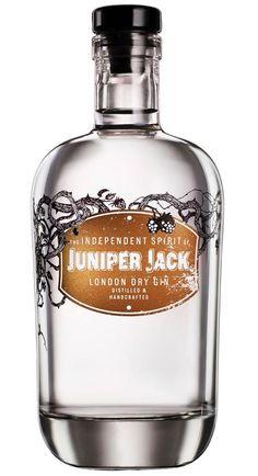 Juniper Jack London Dry Gin, vol. Liquor Bottles, Vodka Bottle, Bebida Gin, Gin Selection, Gin Brands, Gin Tasting, London Dry Gin, Cocktail Drinks, Planners