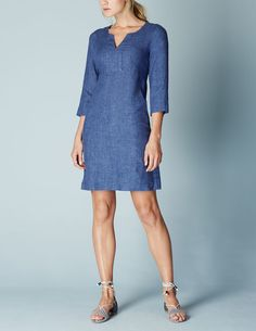 Casual Linen Tunic WH986 Day at Boden