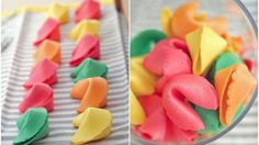 Give your guests the gift of a fun future with these adorable coloured fortune cookies | Entertainment | Closer Online