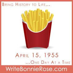 Timeline Worksheet: Today we remember the opening of the first McDonald& by Ray Kroc on April in Des Plaines, IL. Enjoy our short story! Short Stories For Kids, Handwriting Worksheets, History Timeline, Teaching History, We Remember, Worksheets For Kids, Ray Kroc, French Fries, Writing Tips