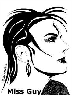 Miss Guy Punk Hairdo by Alex Nights © 2013