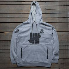 Undefeated x SYR Men SYR Technical Pullover Hoody (gray / heather)