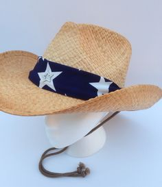 """""""Patriotic Cowgirl"""" is available from inHATuation at www.etsy.com"""