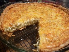 Baked in your favorite pie crust, with a simple list of ingredients, Crab Pie is astoundingly delicious. Think crab cake meets quiche. Crab Pie Recipe, Crab Cake Recipes, Quiche Recipes, Pie Recipes, Whole Food Recipes, Cooking Recipes, Cooking Tips, Easy Recipes, Recipies