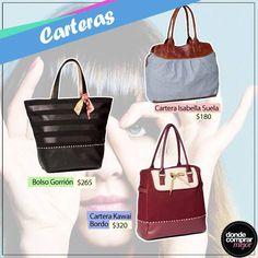 ¡Carteras para todos los estilos! ¡Encontrá la tuya en www.tiendadcm.com/products/list/brand/20730!