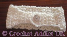 Chunky Headband                 The pattern is in US term     Items required   8mm (L) hook   White Snowberry Chunky Yarn  ( Bulky / 12 pl...