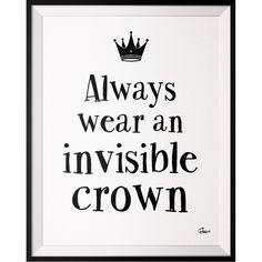 Plakát Crown, 50x70 cm | Bonami