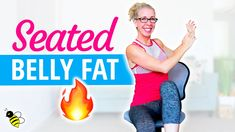 SEATED belly fat burn cardio cardio toning strength abs workout bull Pahla B Fitness Lifting Workouts, At Home Workouts, Extreme Workouts, Pilates, Steady State Cardio, Workout Bauch, Fat Burning Cardio, Lose Weight, Weight Loss