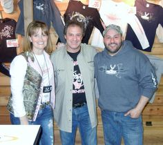 Chillin with Ralph & Vicky at the Eastern Sports Show