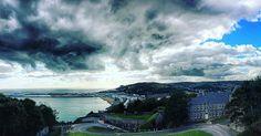 Doverish view. #dover #clouds #sea #landscape #instapic #picoftheday