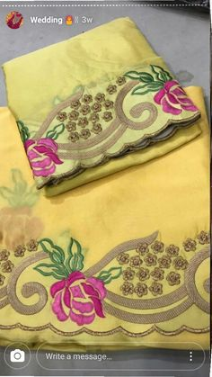AARZOO KAUR✔ Basic Embroidery Stitches, Embroidery Suits Design, Embroidery Dress, Machine Embroidery Designs, Bridal Suits Punjabi, Punjabi Suits Party Wear, Punjabi Dress, Patiala Salwar Suits, Indian Salwar Suit