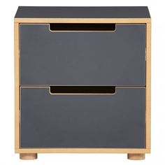 My Place 2 Drawer Bedside Table | Domayne Online Store