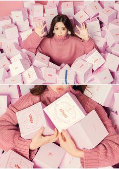 chuu_츄 - 츄(chuu) | 너에게로 퐁당 knit | TOP