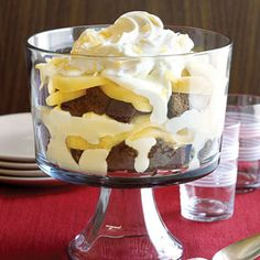 Gingerbread Pear Trifle | MyRecipes.com