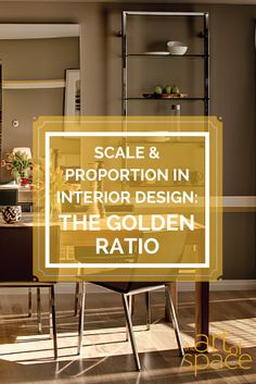 Proportion in wall elevation the golden ratio golden - Proportion in interior design ...
