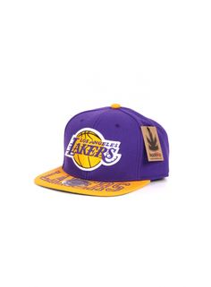 Kaotiko BCN – Gorra - MITCHELL AND NESS VISORHIT LOS ANGELES LAKERS PUR OS 60ceadb3c49