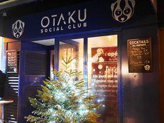 Le otaku social club, superbe bar geek sur la rue St Denis.
