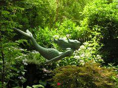 Wonderful mermaid garden sculpture