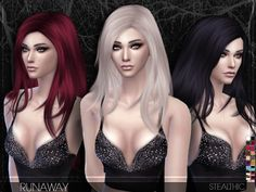 The Sims Resource: Stealthic - Runaway • Sims 4 Downloads