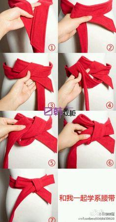 Love this cute belt fashion belt women belt men belt very beautiful How To Tie Ribbon, Diy Ribbon, How To Make Bows, Scarf Belt, Bow Belt, Ribbon Belt, Tie A Belt, Belt Tying, How To Wear Belts