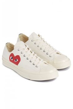 7a30689285ce48 The COMME des GARCONS PLAY x Converse Chuck Taylor All Star´ 70 both high  top and low top versions of the sneaker will be offered in black and  off-white.