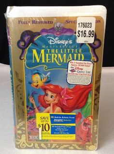 The Little Mermaid Vhs 1998