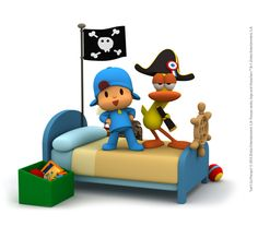 The #IMAGINATION is the most powerful tool children have! #Play with them! http://www.pocoyo.com/en/games