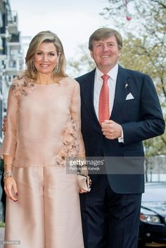 King Willem-Alexander and Queen Maxima of The Netherlands attend the annual Liberation Day concert on the Amstel on May 05, 2017 in Amsterdam, Netherlands.