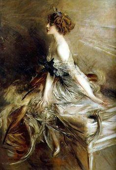 Giovanni Boldini-Principessa Marthe-Lucile Bibesco