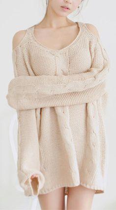 Vanilla Milk Sweater