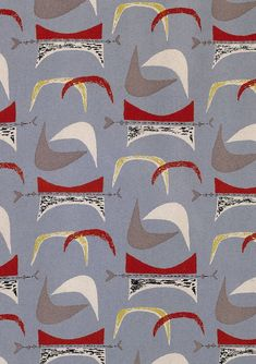 Modernist Graphic Design: Modernist Textiles | 1950's & Henry Moore