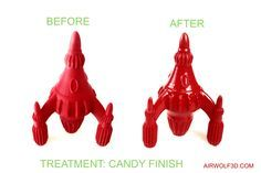 7 Steps to shiny porcelain finish on 3D printed ABS parts with acetone