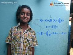 Every child carries a dream. MICROGRAAM Inc. is committed to their better future. Lend now.