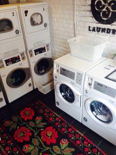 Our small laundry world #laundry #laundromat #coinlaundry